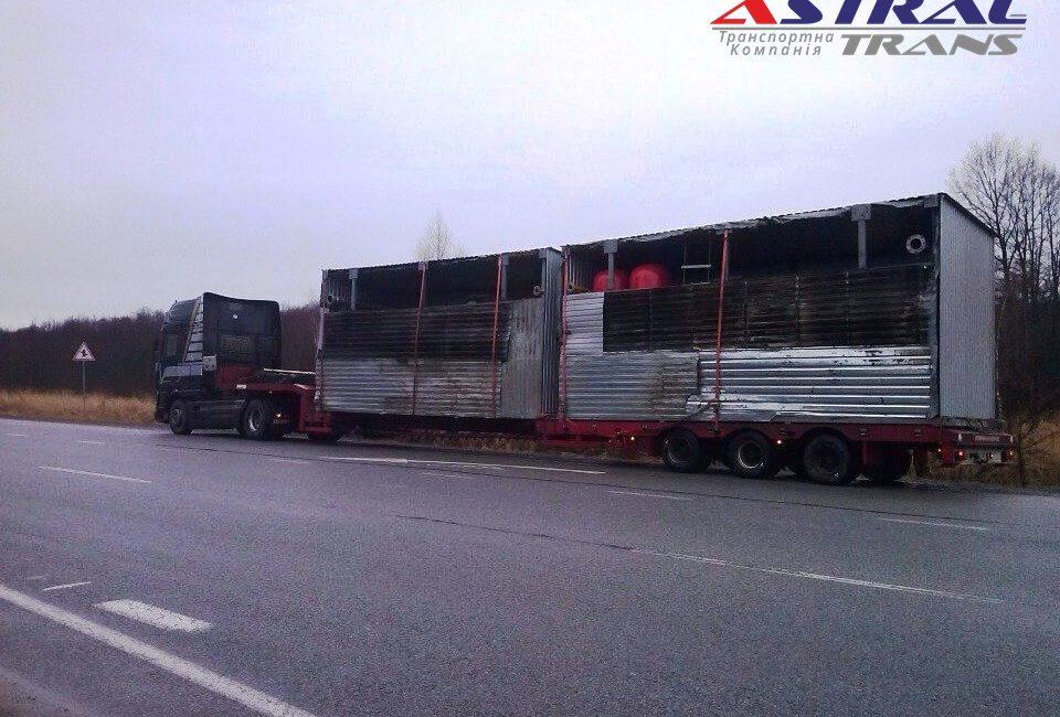Перевозка насосного оборудования